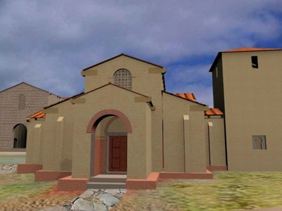 Glosario mirabilia ovetensia for Atrio dentro casa